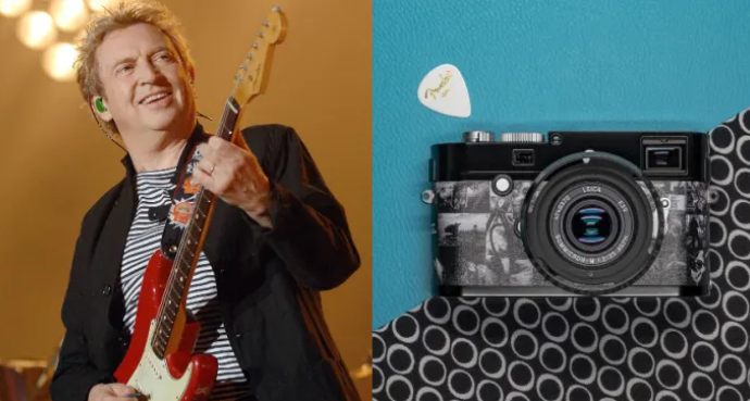 The Police's Andy Summers Teams Up With Leica and Fender for Limited-Edition Camera And Guitar