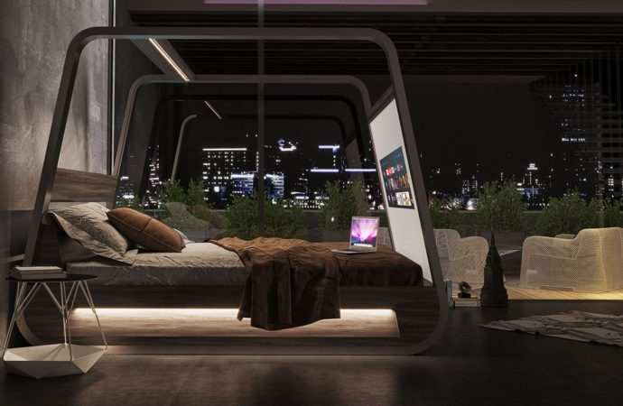 HiBed Turns Your Bedroom Into A Relaxing, High-Tech Retreat