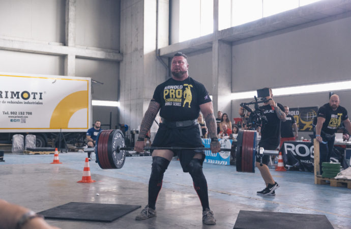 World renowned strongman competitor Jerry Pritchett contends that New Age's mouthware technology is giving him more strength and power